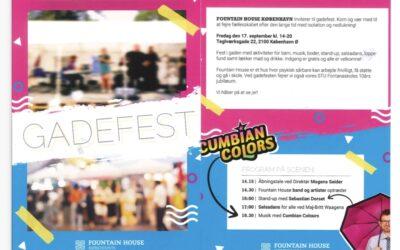 Gadefest – Fontanaskolens 10 års Jubilæum
